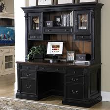 home office desk with hutch. Charming Sauder Computer Desk With Hutch Black Pics Idea Home Office