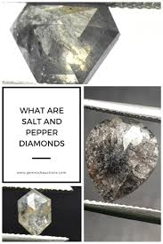 What Are Salt And Pepper Diamonds Gem Rock Auctions