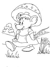 Topo Disegni Per Bambini Da Colorare