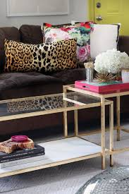 3 ikea diy coffee table gold spray paint how to budget easy makeover marble