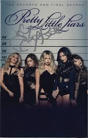 Lucy Hale signed Pretty Little Liars season 7 DVD insert