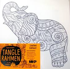 Ch Ssis En Toile Colorier Mhp Tangle Rahmen Elephant De
