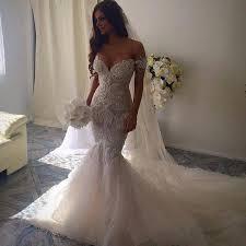 romantic beautiful mermaid wedding dresses sweetheart backless