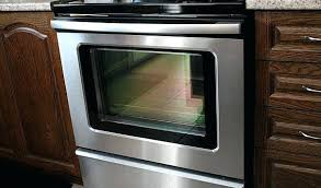 cleaning oven glass make your oven door glass sparkle with 3 natural ings cleaning inside oven