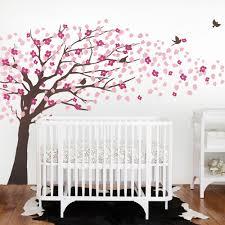 baby room cherry blossom wall art on tree wall art for baby room with baby room cherry blossom wall art andrews living arts very