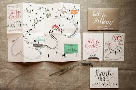 An Amazing Wedding Invitation Idea For The Unconventional Bride Courtesy Of Etsy  Glamour