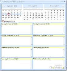 Publisher Weekly Calendar Template 2017 Calendar Template Publisher ...