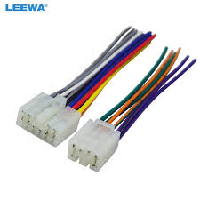 leewa car audio stereo wiring harness adapter plug for toyota scion leewa car audio stereo wiring harness adapter plug for toyota scion factory oem radio cd