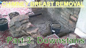 Living Room Chimney Removal
