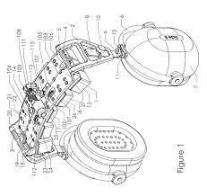 Patent us8050444 adjustable mechanism for improving headset