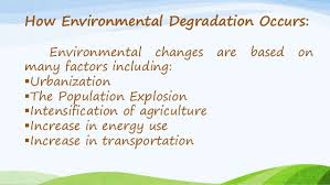 environmental degradation ppt 4 how environmental degradation