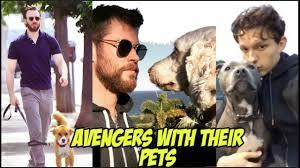 <b>Avengers</b>: Endgame Cast With Their Pets - <b>Cute</b> and <b>adorable</b> ...