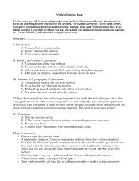 example of problem and solution essay com best solutions of example of problem and solution essay epic cover letter example of problem and