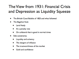 the great depression from the perspective of today and today from  the perspective of 72 years ago