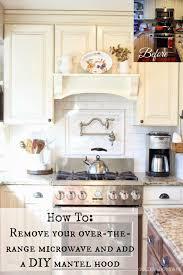 Range Hood Kitchen Diy Mantel Hood Tutorial We Mantels And Home Renovation