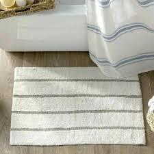 dkny blue striped bath rug bathroom apt 9 revolution furniture magnificent navy