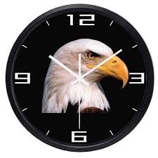 Image result for eAGLE CLOCK IMAGE