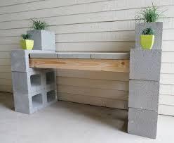 concrete block furniture ideas. 5 ways to use cinder blocks in the garden concrete block furniture ideas