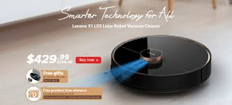 [Best of Black Friday 2019] <b>Lenovo X1 LDS Lidar</b> Laser Vacuum ...