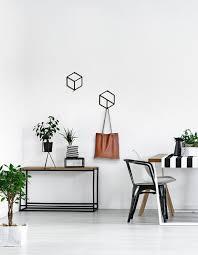 set of 2 modern wall hanger