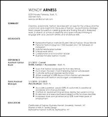 Award Winning Resume Templates Fascinating Free Creative Fashion Assistant Buyer Resume Template ResumeNow