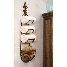 towel rack with hooks. Hanging Towel Rack With Hooks