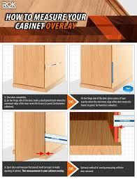 how to measure your cabinet overlay what is overlay for blum european concealed hinges