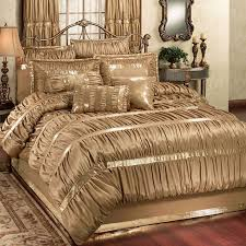 damask bedding gold colors