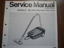 panasonic bagless vacuum cleaner vintage national panasonic mc 8110 vacuum cleaner service manual wiring diagram