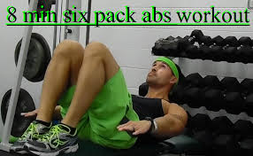 Six Pack Abs Workout Chart 8 Minute Six Pack Abs Workout Best Home Workouts Free
