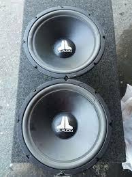 speakers 12 inch. speakers jl audio 12 inch sold as is 5