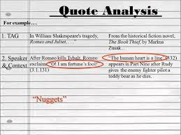 quote analysis
