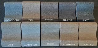 Color Charts Trrimstone Products Llc