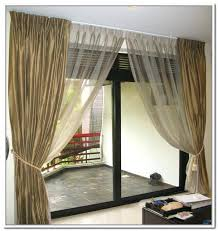 curtains sliding glass door pertaining to curtain for sliding door plans curtain wall sliding door revit