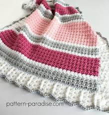 Easy Crochet Baby Blanket Patterns Adorable 48 Quick And Easy Crochet Blanket Patterns For Beginners Listing More