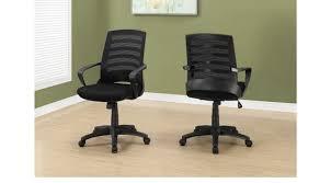 black desk chair. Chasefield Black Desk Chair