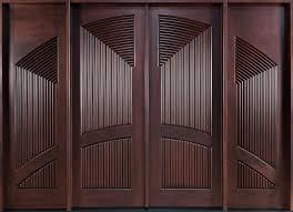 modern wooden double door designs dark brown wooden double entry doors with no handle of entrancing