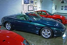 After pininfarina designed and built them, the prince only purchased six and the remaining car (silver car) was purchased by a private car collector in the united kingdom. Coachbuild Com Pininfarina Ferrari 456 Gt Venice Convertible