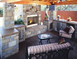 how to build an outdoor fireplace with cinder blocks