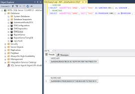 the hashbytes function in t sql