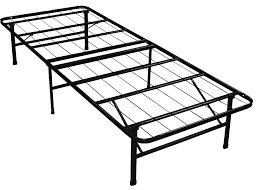 Amazon best price mattress new innovated box spring metal bed frame with 4 brackets bed skirt king kitchen dining