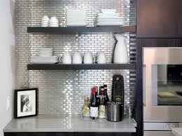 Kitchen Backsplash Panel Modern Metal Tile Kitchen Backsplash Metal Tile Kitchen