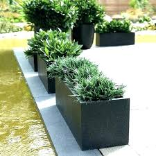 large rectangular planters outdoor uk square plant pots ceramic white flower ts garden plastic modern planter
