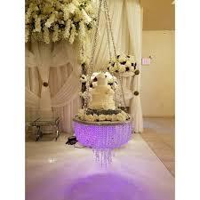 suspended hanging chandelier wedding cake stand 18 24 30 chandelier cake