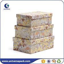 Decorative Cardboard Storage Box With Lid Large Decorative Storage Boxes With Lids Wholesale Storage Box 9