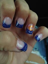 Nail Design Chicago Bear Down Chicago Gel Nails Nails Chicago Bears Nails