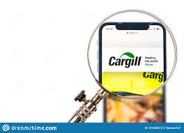 Cargill Stock Chart Solothurn Switzerland November 11 2018 Cargill Logo