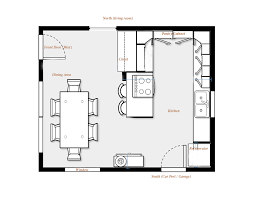 kitchen furniture plans. Kitchen Floor Plans With Or Without Island: Stuuning  With Dining Area And · « Kitchen Furniture Plans V