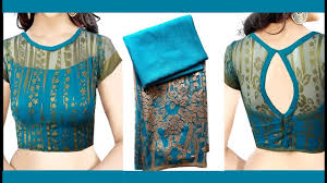 Boat Neck Designs With Net For Kurtis New Boat Neck Net Blouse Design Boat Neck Blouse Designs Blouse Designs