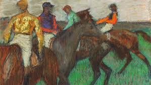 impressionist paint edgar degas was a huge admirer of the horse as seen with